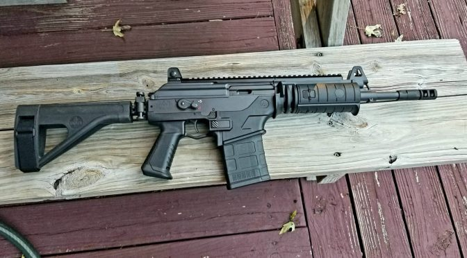 IWI Galil Ace Pistol In 7.62×51:  Development History And Photos Out Of The Box