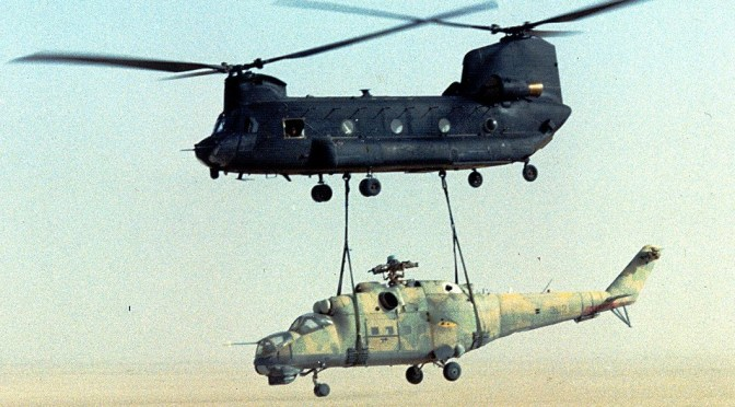 Ever Hear About The Time US Special Ops Snatched a Mi-25 Hind D Attack Helicopter?