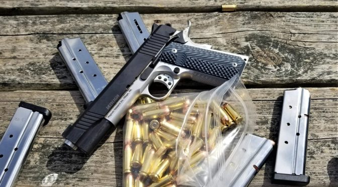 The Magnum Research DE1911G10 10mm Pistol – I Really Like It!