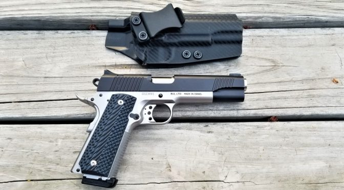 Concealment Express' 1911 IWB Kydex Holster Is Nice!