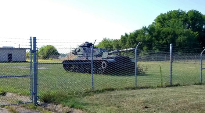 The M103 and M60 Tanks At The Dowagiac, Michigan, National Guard Armory – Cold War Armor