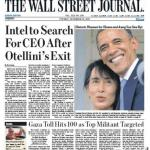 "Titelseite ""The Wall Street Journal"" vom 20. November 2012"