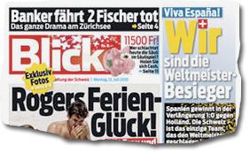 """Ausriss """"Blick"""""""