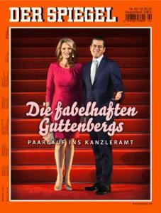 """Spiegel""-Cover: ""Die fabelhaften Guttenbergs"""