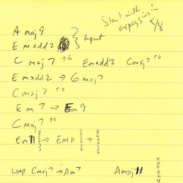 8-Bit Time Machine chords Post-it