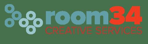 New Room 34 logo, revised