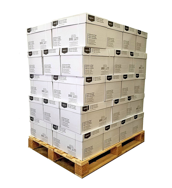 Pallets of paper