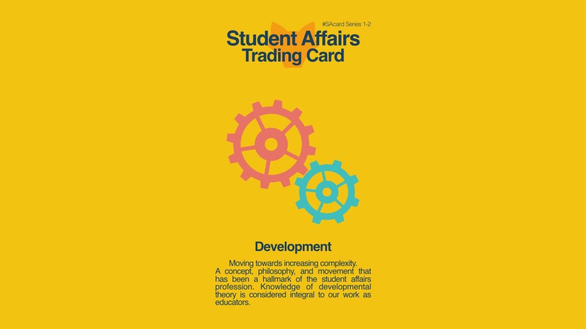Student Affairs Trading Card 1-2: Development