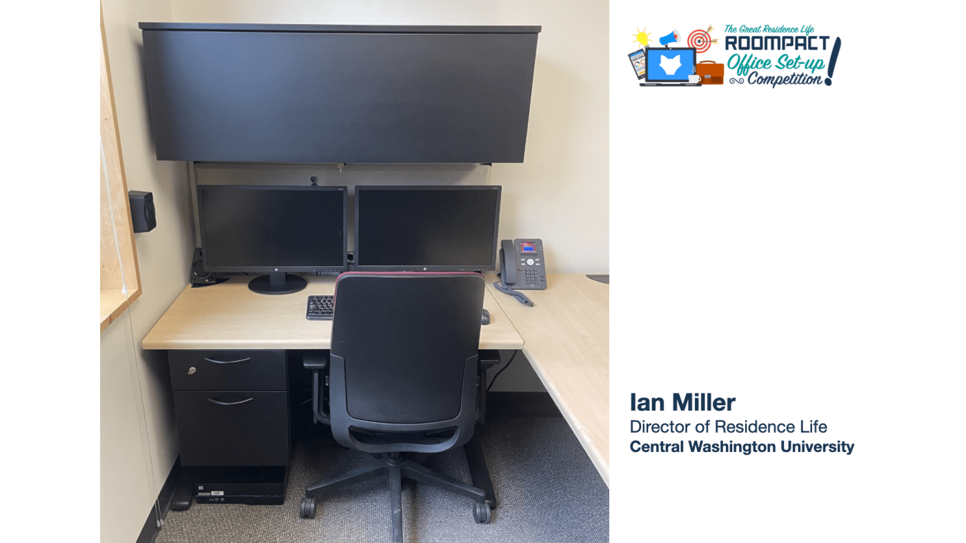 Office Set Up of Ian Miller