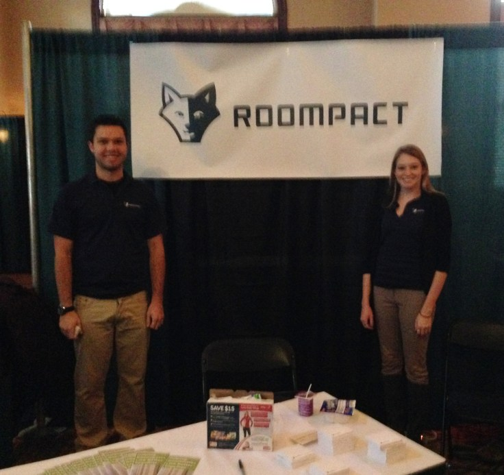 Roompact at it's first conference, GLACUHO