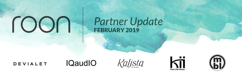 Roon Partner Update: February 2019 - Roon Labs