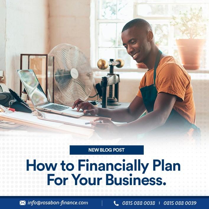 financially plan