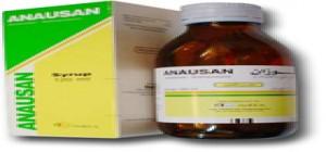 معلومات عن دواء انايوزان لعلاج الغثيان والقيء Anausan syrup