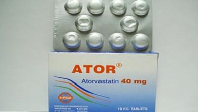 دواعي استعمال اقراص اتور لعلاج زيادة نسبة الكوليسترول فى الدم