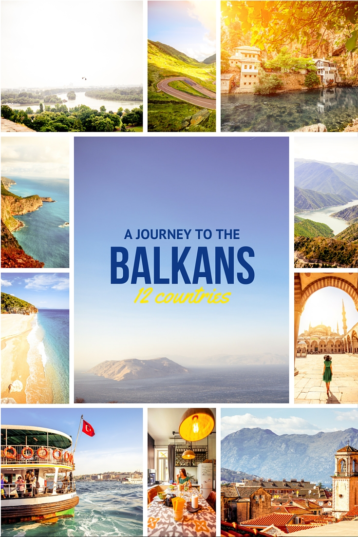 A Journey To The Balkans - 12 countries