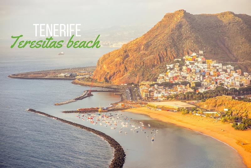 16 Tenerife, Playa Teresitas