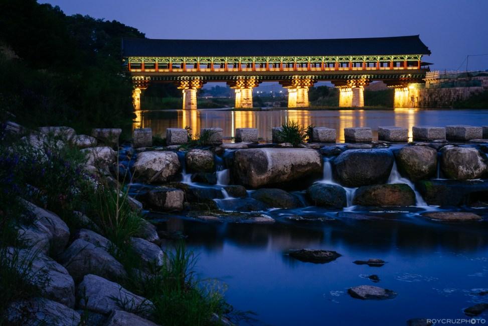 Gyeongju Woljeong Bridge 월정교