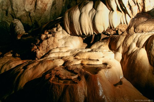 Shark's Head and Mini Rice Terraces, Sumaguing Cave, Sagada