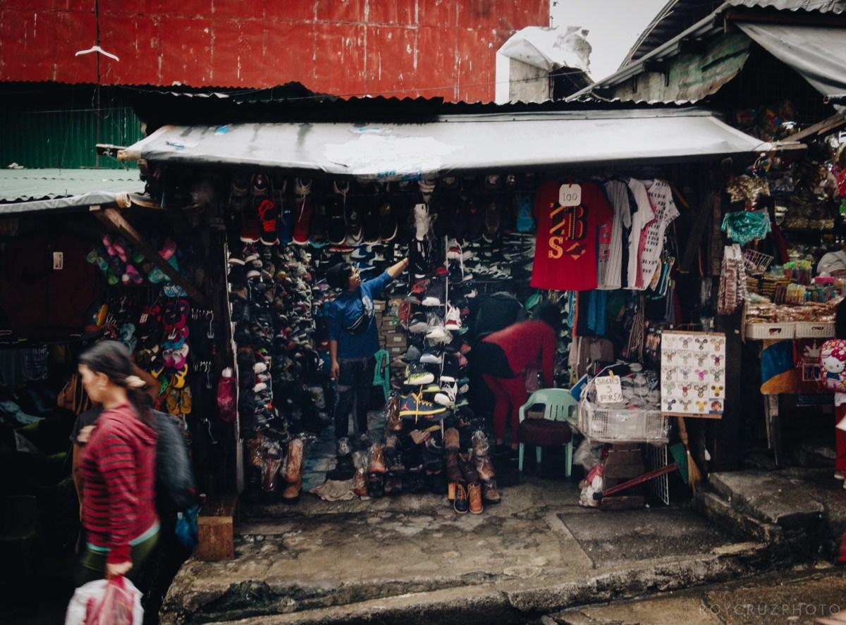 Baguio City Philippines public Market iPhone street photography