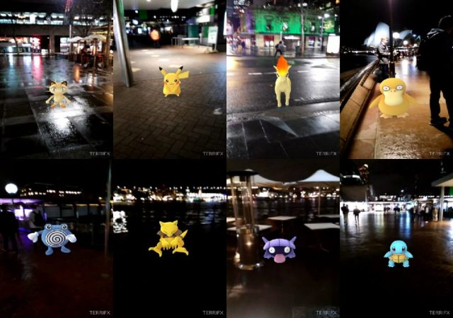 Pokemon at Circular Quay and Sydney Opera House