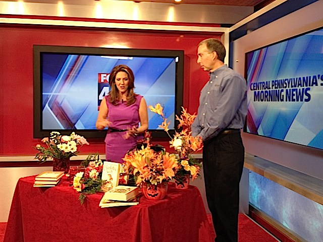 "Barry Spengler of Royer's discusses ""Bouquets for Books"" and Halloween with Fox 43 Morning News' Heather Warner."