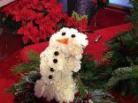 Carnation snowman