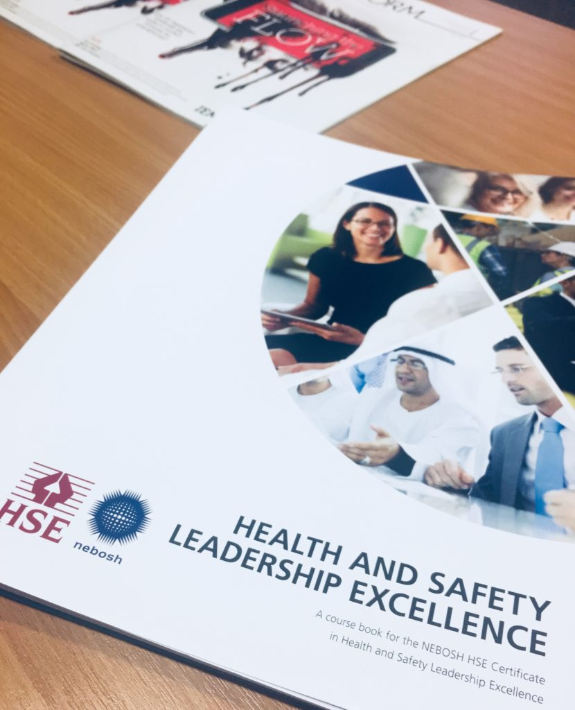 NEBOSH Health & Safety Leadership Excellence text book