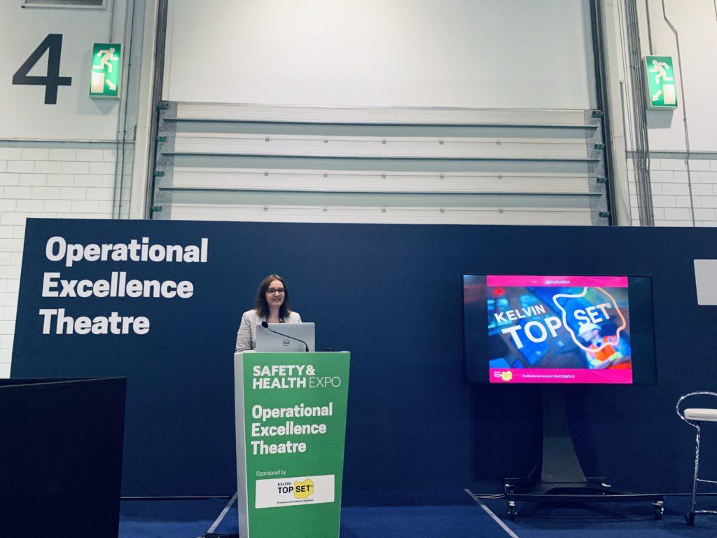Nikki Curtis from Kelvin TOP-SET discussing effective investigation implementation