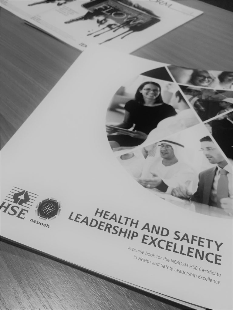 NEBOSH HSE Certificate in Health and Safety Leadership Excellence