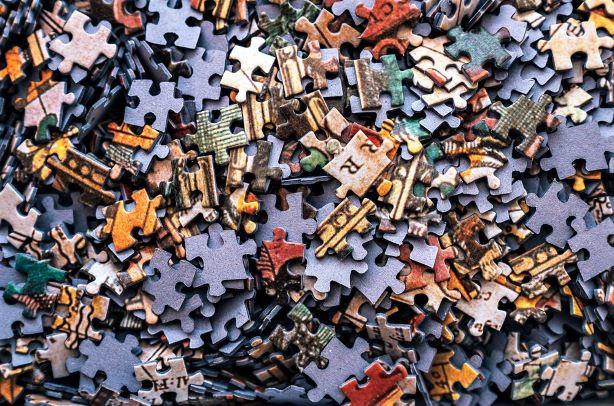 Puzzle analogy of studying