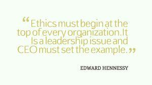 Ethics must