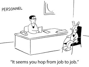 Hopping from job to job