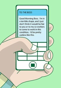 Text message 1