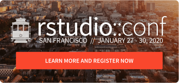 Learn more and register for the RStudio 2020 conference here