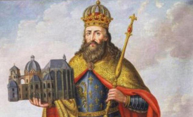 Портрет на Карл Велики