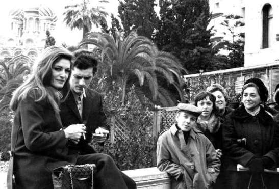 Луиджи Тенко и Далида в Сан Ремо - 1967 г.