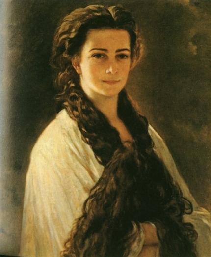 Сиси - портрет от Франц Ксафер Винтерхалтер, 1864 г.