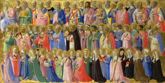 1 ноември - ден, в който Христянската църква отдава почит на всички светци и мъченици