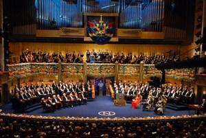 Нобелови награди - церемонията