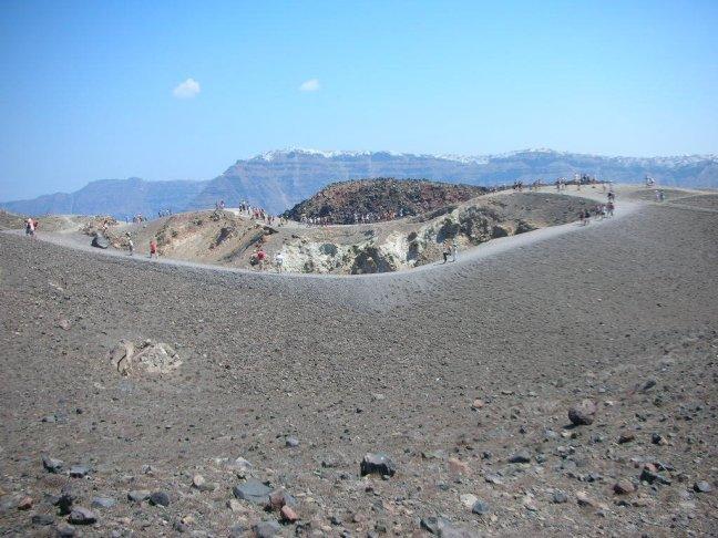 Вулканичният кратер