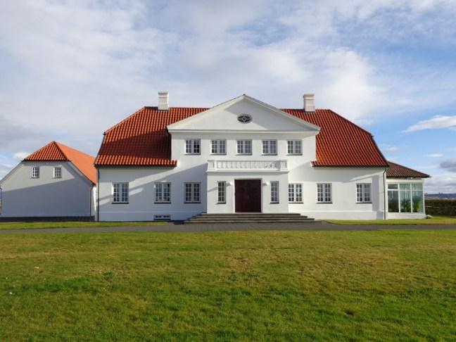 Резиденцията на президента в Бесастадир