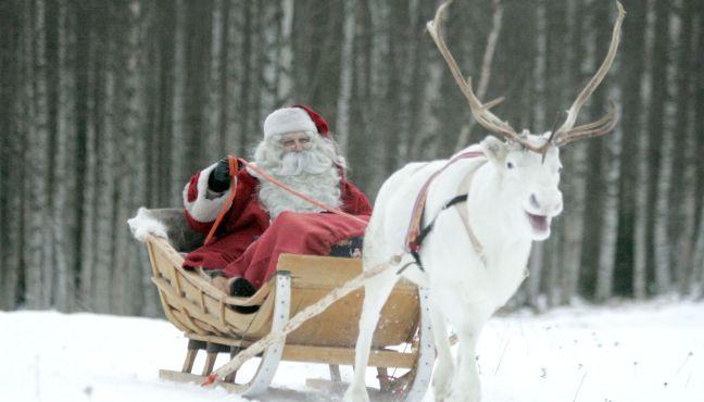Дядо Коледа в Лапландия