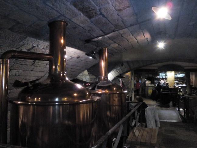 Ресторант-пивоварна Карел IV в Карлови Вари.