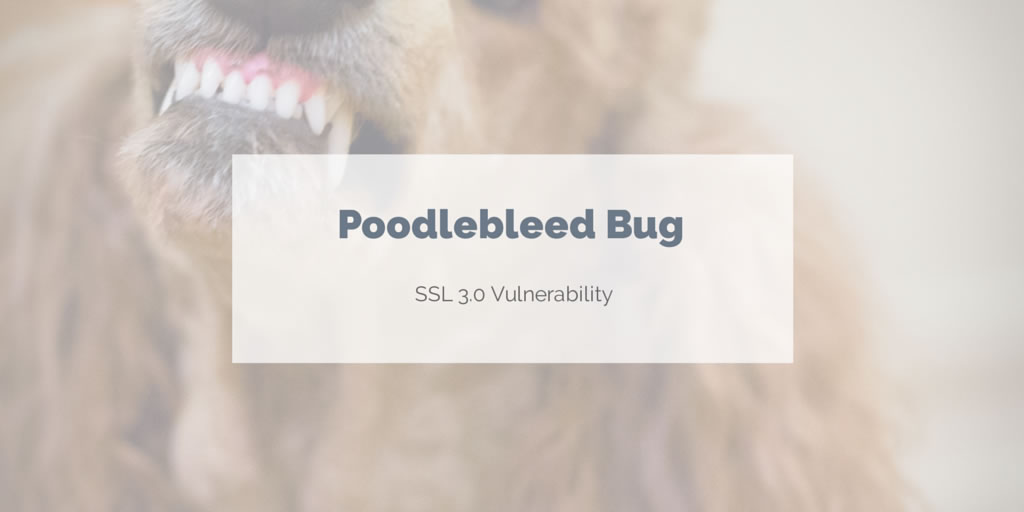 Poodlebleed exploits SSL 3.0