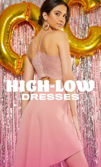 homecoming dress high low