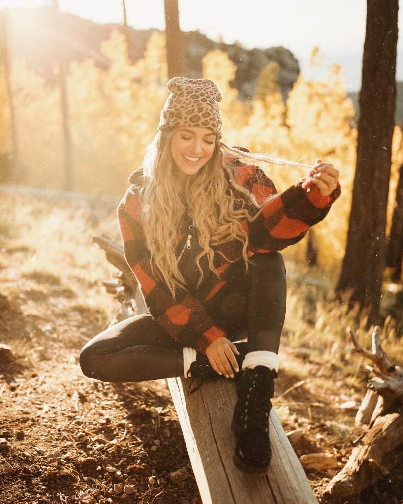 Fall Outfit Inspiration sherpa
