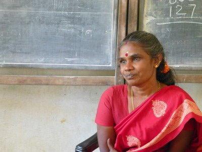 S Vijaylaxmi, teacher at Integrated Tribal Development Project school in Edalippara