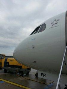 """Die """"Steyr"""" von Austrian Airlines"""