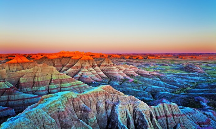 Badlands National Park, South Dakota Romantic Camping Escapes