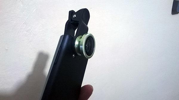 cara memasang lensa (dokpri menggunakan lumia 520)